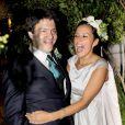 Bernardo Guillermo et Eva Prinz-Valdez ont été unis religieusement le 4 septembre 2009 à New York