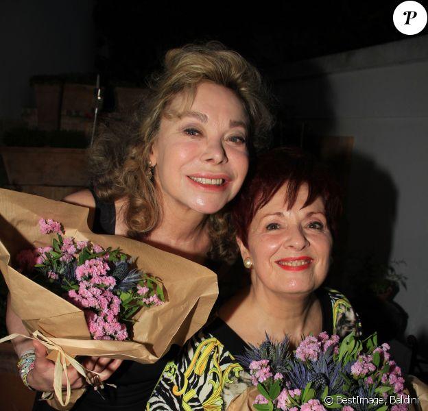 Exclusif - Grace de Capitani, Fabienne Thibeault - G.Capitani et F.Thibeault célèbrent leur anniversaire chez G.Capitani à Paris le 17 juin 2020. © Baldini / Bestimage
