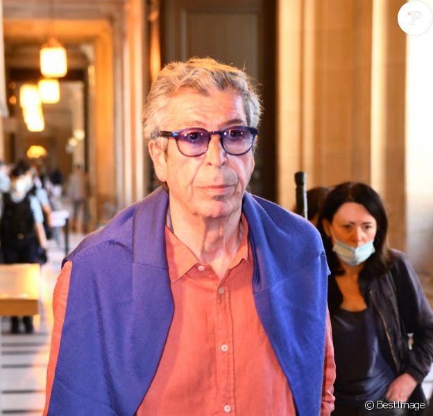 Patrick Balkany à la sortie du palais de justice de Paris, le 27 mai 2020
