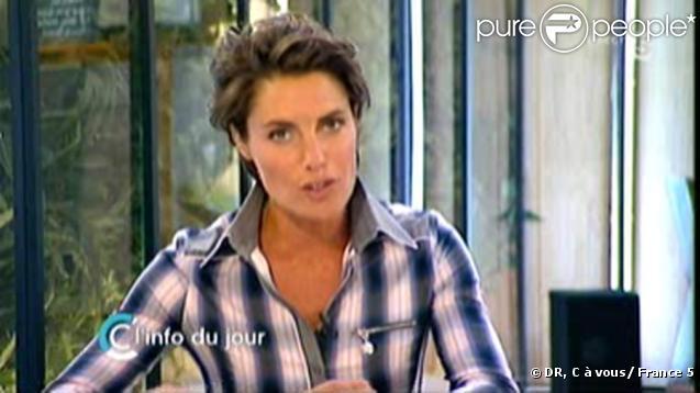 Alessandra sublet lors de la premi re de c vous sur for Coupe de cheveux julie andrieu