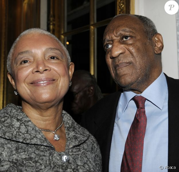 Camille et Bill Cosby à New York en novembre 2009