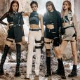 """Le group Sud Coréen BLACKPINK a battu un record sur YouTube avec plus de 100 millions de vue en deux jours. Le 8 avril 2019  BLACKPINK have gone one step ahead and smashed yet another YouTube record, this time for being the fastest video to ever hit 100 million views. The K-pop band hit the milestone just 62 hours after the """"Kill This Love"""" video was released on April 8th 201908/04/2019 - Seoul"""