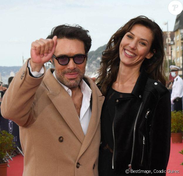Nicolas Bedos, Doria Tillier - Arrivées lors de la 34ème édition du festival de Cabourg, Journées Romantiques le 29 juin 2020. © Coadic Guirec / Bestimage