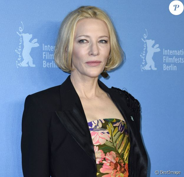 "Cate Blanchett au photocall de ""Stateless"" lors de la 70ème édition du festival international du film de Berlin (La Berlinale 2020), © Future-Image via Zuma Press/Bestimage"
