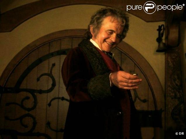 Ian Holm incarnait Bilbo dans  Le Seigneur des Anneaux  !