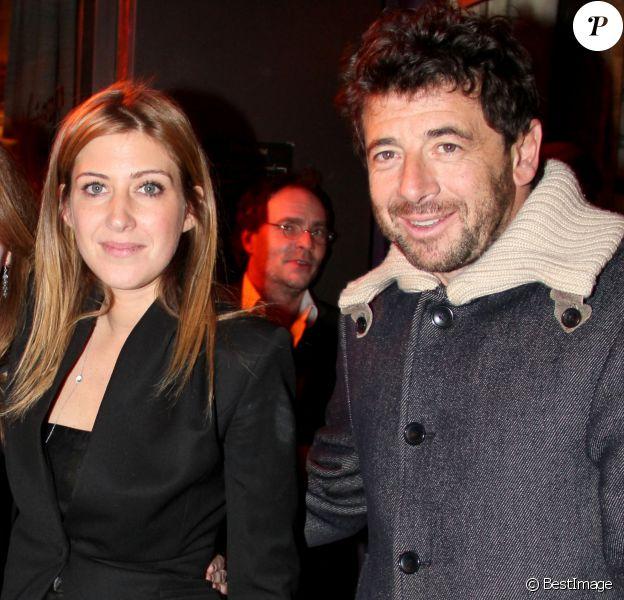 Exclusif - Amanda Sthers et Patrick Bruel - Amanda Sthers recoit la médaille des Arts et des Lettres au restaurant BBB entourée de ses plus proches amis et de sa famille à Paris le 31 Janvier 2013.