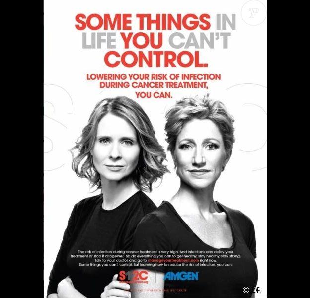 Cynthia Nixon et Edie Falco luttent ensemble contre le cancer