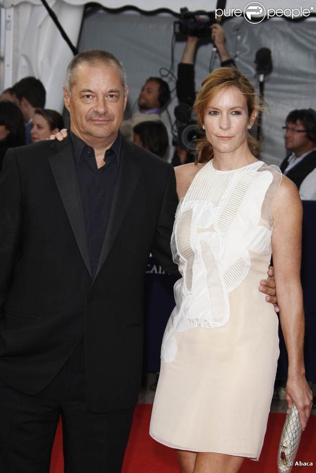 Jean-Pierre Jeunet et sa femme Lisa, à l'occasion de l'avant-première des  Vies Privées de Pippa Lee  et de l'hommage à Robin Wright, à l'occasion du 35e Festival de Deauville, le 10 septembre 2009.