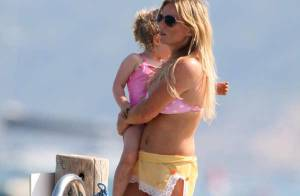 Geri Halliwell : l'amour à la plage avec son chéri... et super maman avec sa magnifique petite fille !