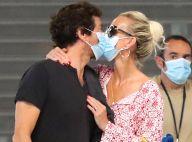 Laeticia Hallyday et Pascal Balland : Amour fou, baisers et escapade romantique