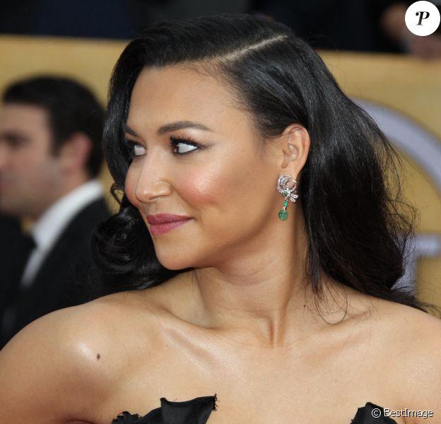 Naya Rivera - 19e Annual Screen Actors Guild Awards au Shrine Auditorium de Los Angeles. Le 27 janvier 2013.