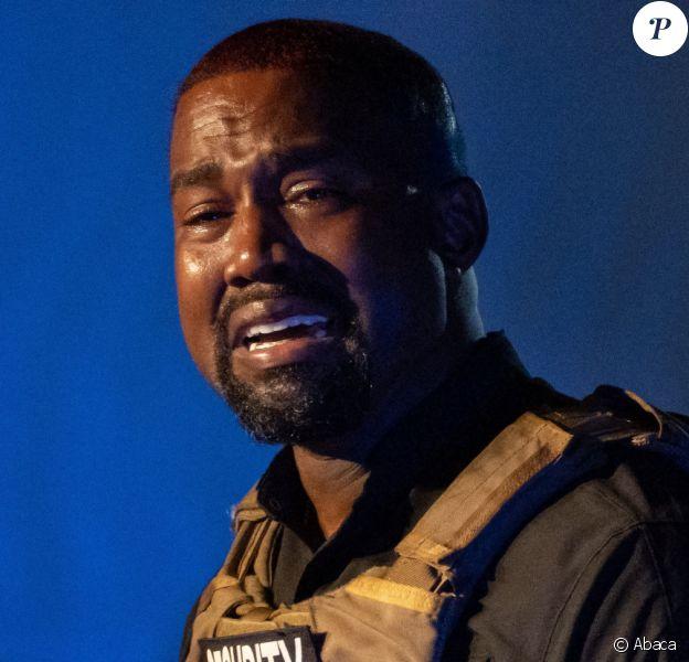 Kanye West craque le 19 juillet 2020.