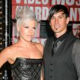 Pink avec son mari Carey Hart aux MTV Video Music Awards 2009
