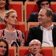 Uma Thurman et Harvey Weinstein au Prix Lumière à Lyon, en 2013.