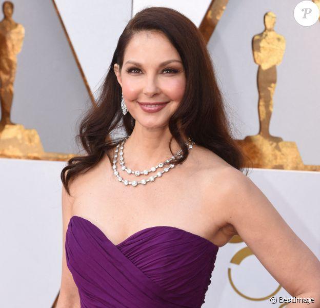 Ashley Judd - 90ème cérémonie des Oscars 2018 au théâtre Dolby à Los Angeles, le 4 mars 2018.
