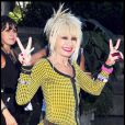 Betsey Johnson à la Fashion Week de New York