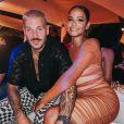 Christina Milian et M.Pokora le 1er août 2020 sur Instagram.