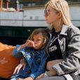 Stéphanie Clerbois enceinte de son deuxième enfant pose avec son fils Lyam - Instagram, 27 juillet 2020