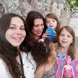 Anne Alassane partage une photo de famille sur Instagram, le 9 août 2019