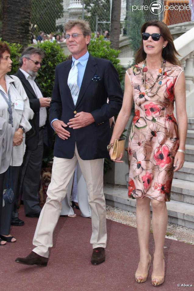 Caroline de Monaco et son époux Ernst August de Hanovre