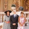 Caroline, Albert et Stéphanie de Monaco