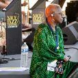 """Exclusif - Angélique Kidjo durant le deuxième jour des répétitions de l'émission de télévision """"Nice Jazz Festival"""" au Théâtre de Verdure à Nice le 25 juillet 2020. © Bruno Bébert / Bestimage"""