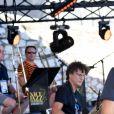 """Exclusif - Tom Leeb durant le premier jour des répétitions de l'émission de télévision """"Nice Jazz Festival"""" au Théâtre de Verdure à Nice le 24 juillet 2020. © Bruno Bebert/Bestimage"""