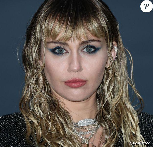 Miley Cyrus - Photocall - Saint Laurent présente sa collection homme printemps-été 2020