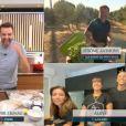 """Alizée avec Grégoire Lyonnet et Annily dans """"Tous en cuisine"""" - M6, 26 août 2020"""