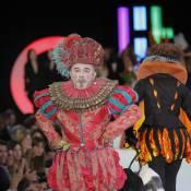 Gérard Jugnot : Pour son Rose et Noir, il joue les John Galliano... en plein concours Elite Model Look !
