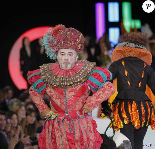 Gérard Jugnot à la soirée Elite Model Look au Pavillon Cambon à Paris le 17/09/09.