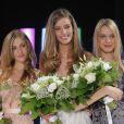 Alexia, Manon et Charlotte à la soirée Elite Model Look au Pavillon Cambon à Paris le 17/09/09.