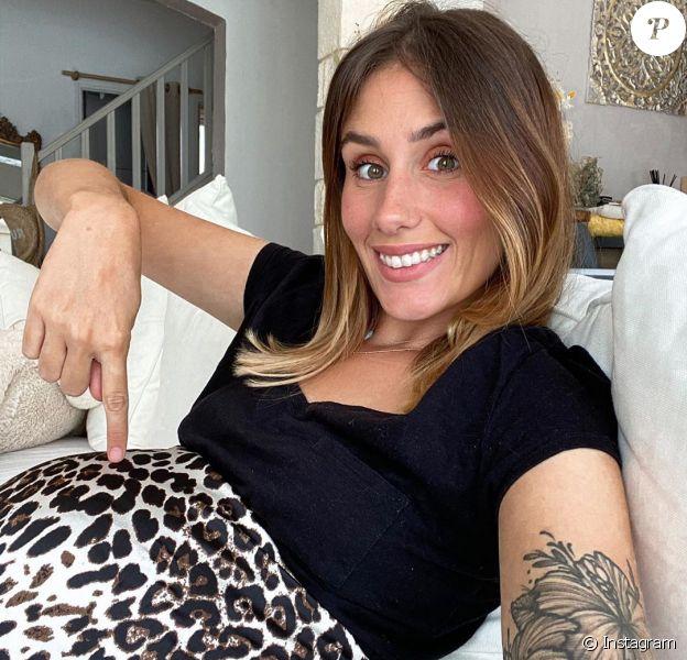 Jesta Hillmann, future maman sur Instagram.