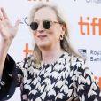 """Meryl Streep à la première du film """"The Laundromat"""" pendant le festival international du film de Toronto (TIFF), à Toronto, le 9 septembre 2019. © Imagespace/Zuma Press/Bestimage"""