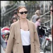 Claudia Schiffer Vs. Stella McCartney : deux bêtes de mode à la sortie de l'école... difficiles à départager !
