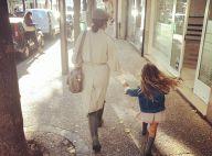 Amel Bent : Rentrée joyeuse pour la petite Sofia, assortie à sa maman