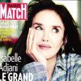 Retrouvez l'interview d'Isabelle Adjani dans le magazine Paris Match, n° 3722 du 3 septembre 2020.
