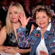 """Annie Cordy lors du dîner de gala de l'association """"Enfant Star & Match"""" à l'hôtel Carlton à Cannes. Le 28 janvier 2017. © Bruno Bebert/Bestimage"""