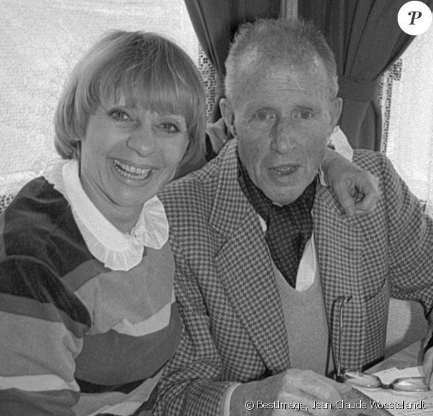 Exclusif - Annie Cordy et son mari François-Henri Bruno lors d'une tournée en Auvergne. © Jean-Claude Woestelandt / Bestimage