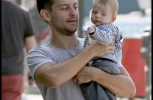 Tobey Maguire en famille : Quand un super-héros se transforme... en super-papa !