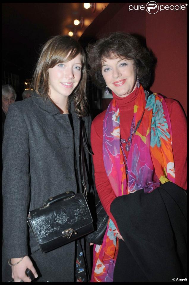 Sara Giraudeau et sa mère Anny Deperey