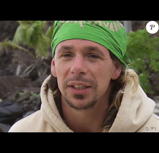 """Bertrand Kamal dans """"Koh-Lanta 2020, Les 4 Terres"""" sur TF1."""