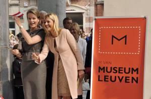 Les princesses Maxima des Pays-Bas et Mathilde de Belgique : Une magnifique complicité !