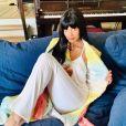 Jameela Jamil a suivi les 72e Emmy Awards en pyjama.