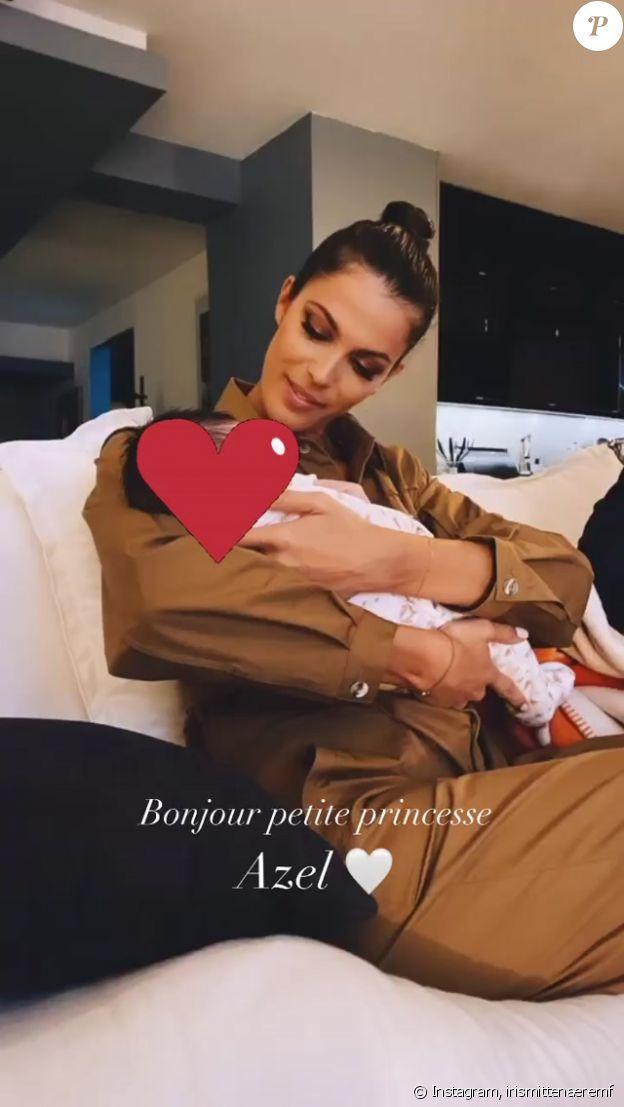 Iris Mittenaere, nouvelle tata comblée sur Instagram, le 25 septembre 2020.