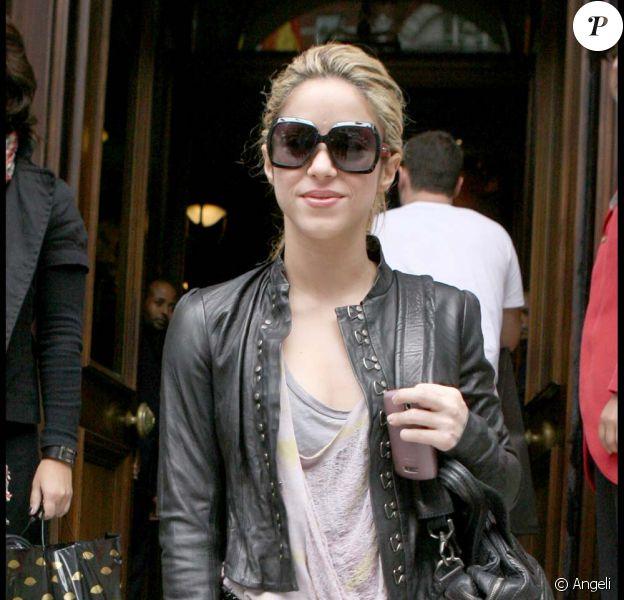 Shakira à Londres, le 23 septembre 2009
