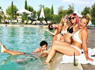 Marilou Berry : En maillot de bain et à la plage lors de vacances en Corse