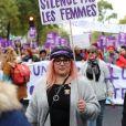 Marilou Berry - De nombreuses artistes et personnalités marchent contre les violences sexistes et sexuelles (marche organisée par le collectif NousToutes) de place de l'Opéra jusqu'à la place de la Nation à Paris le 23 Novembre 2019 © Cyril Moreau / Bestimage