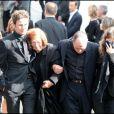 La famille de l'artiste aux obsèques de Filip Nikolic, le 24 septembre 2009.