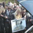 La famille aux obsèques de Filip Nikolic, le 24 septembre 2009.